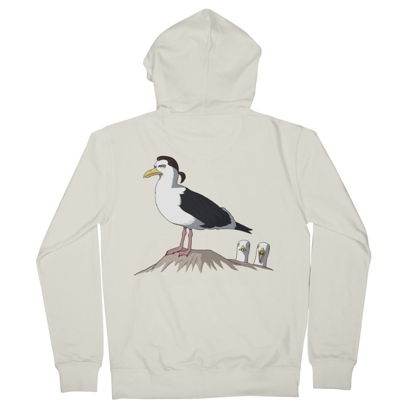 I am Steven Seagull Women's Zip-Up Hoody by Andrew's Fantastic World Shop