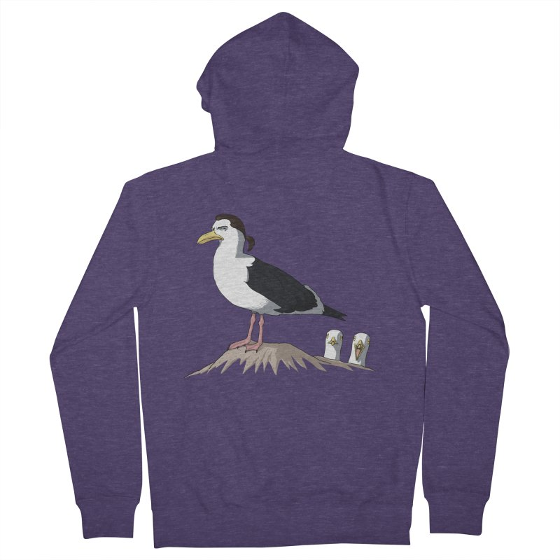 I am Steven Seagull Men's Zip-Up Hoody by Andrew's Fantastic World Shop