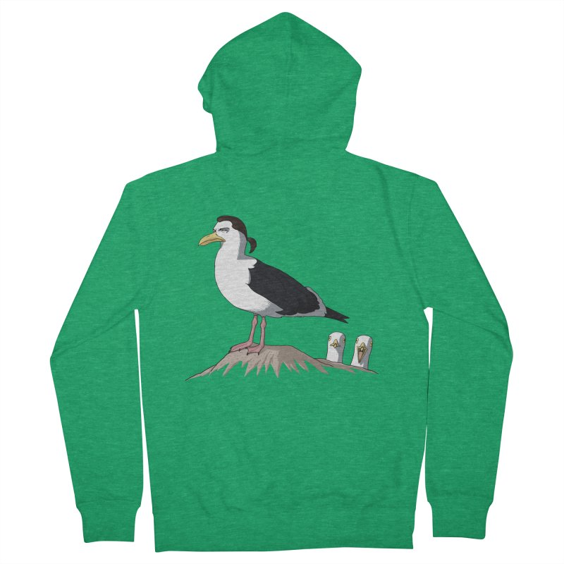 I am Steven Seagull Men's Zip-Up Hoody by Andrew's Fantastic World Shop