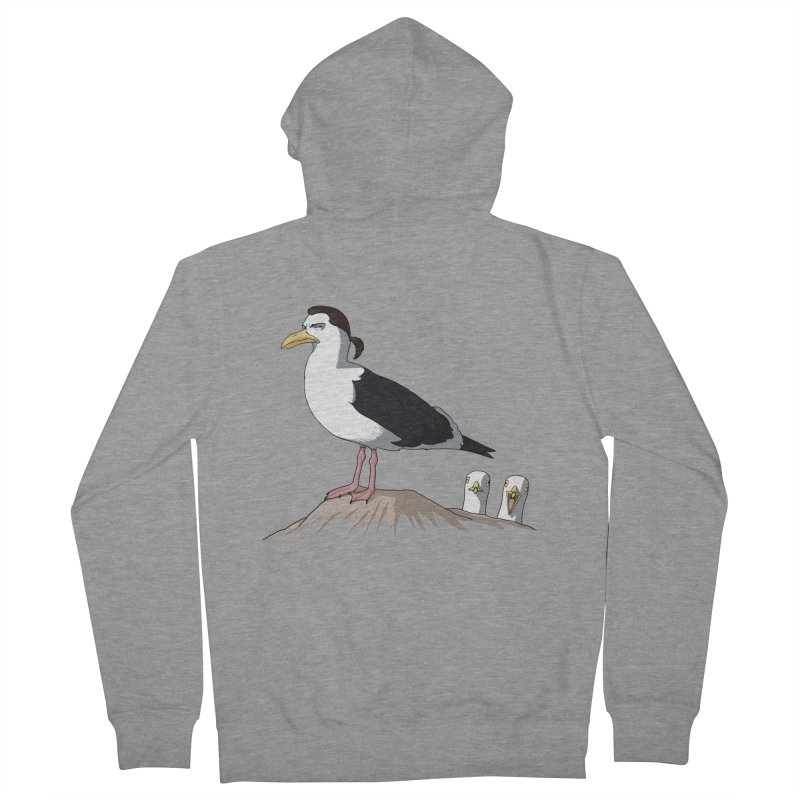 I am Steven Seagull Men's French Terry Zip-Up Hoody by Andrew's Fantastic World Shop