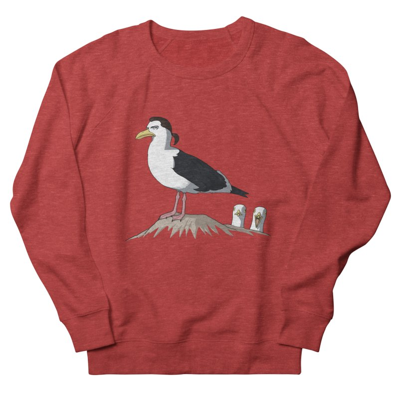I am Steven Seagull Women's French Terry Sweatshirt by Andrew's Fantastic World Shop
