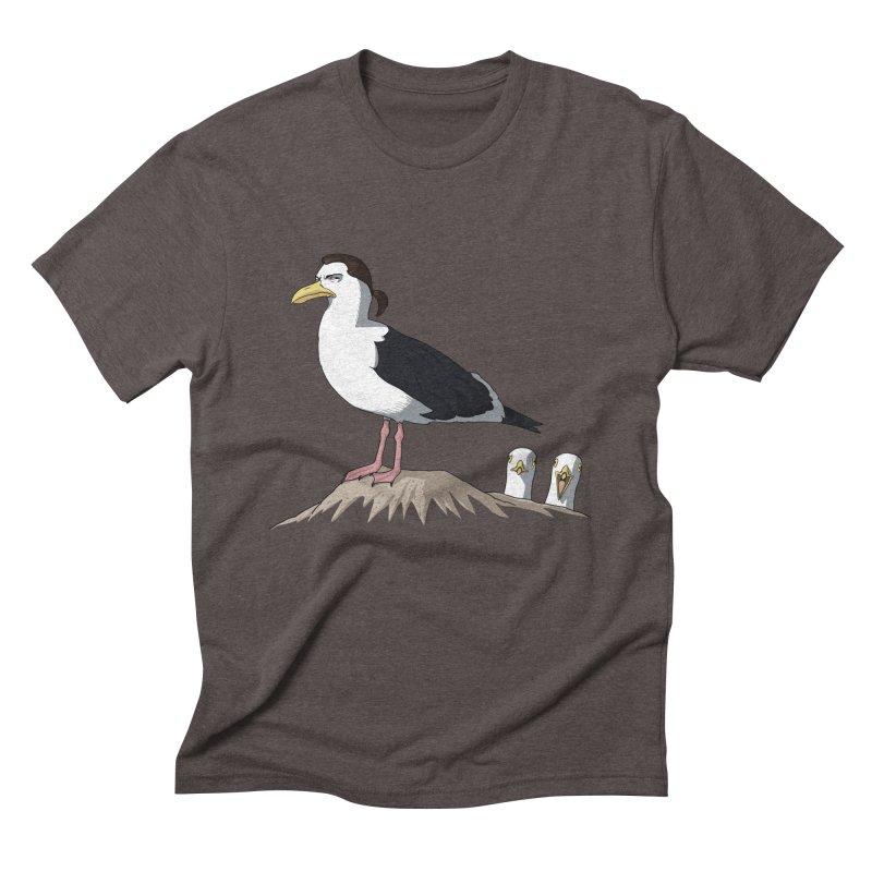 I am Steven Seagull Men's Triblend T-Shirt by Andrew's Fantastic World Shop