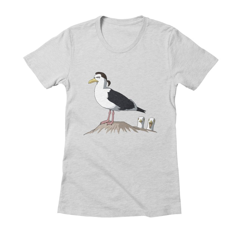 I am Steven Seagull Women's Fitted T-Shirt by Andrew's Fantastic World Shop