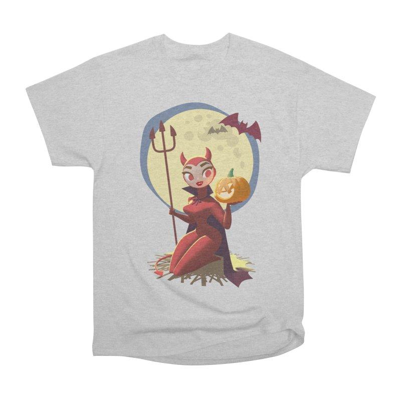 Doris Devil Men's T-Shirt by Andrew Hickinbottom's Artist Shop