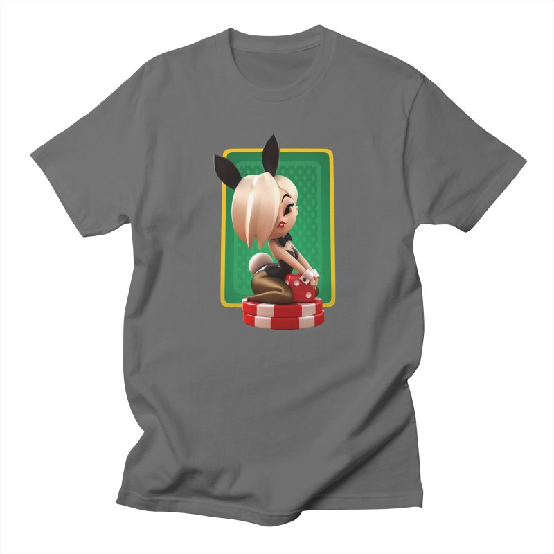 Lucky Vicky Men's T-Shirt by Andrew Hickinbottom's Artist Shop