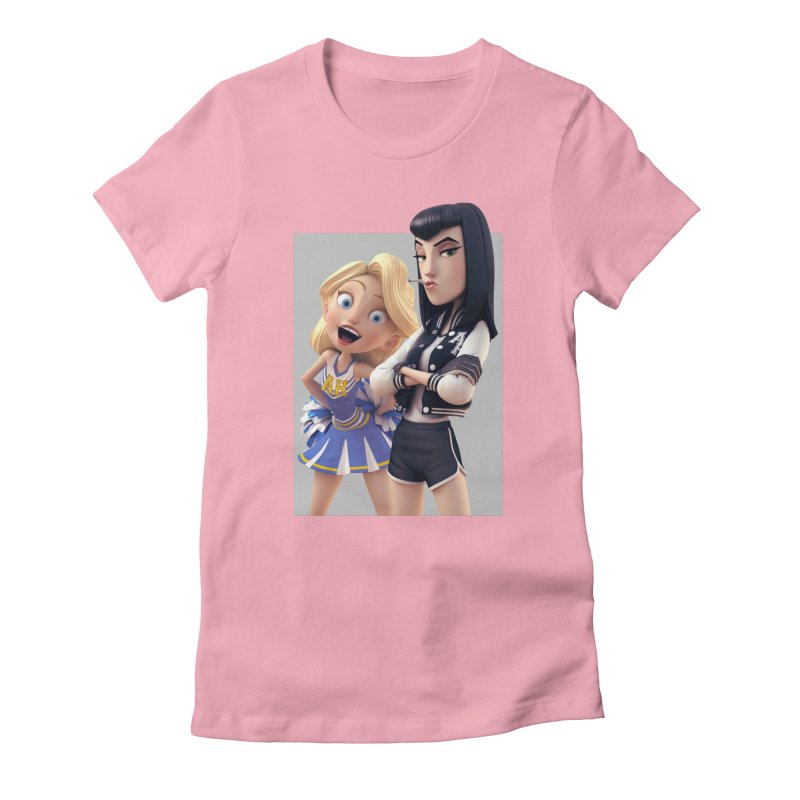 Penny & Candy Women's Fitted T-Shirt by Andrew Hickinbottom's Artist Shop