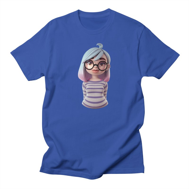 Abby (Portrait) Men's T-Shirt by Andrew Hickinbottom's Artist Shop