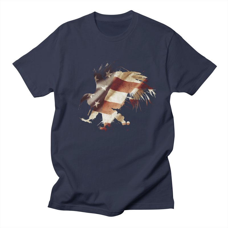 Bald Eagle Men's T-Shirt by andrewkaiser's Artist Shop