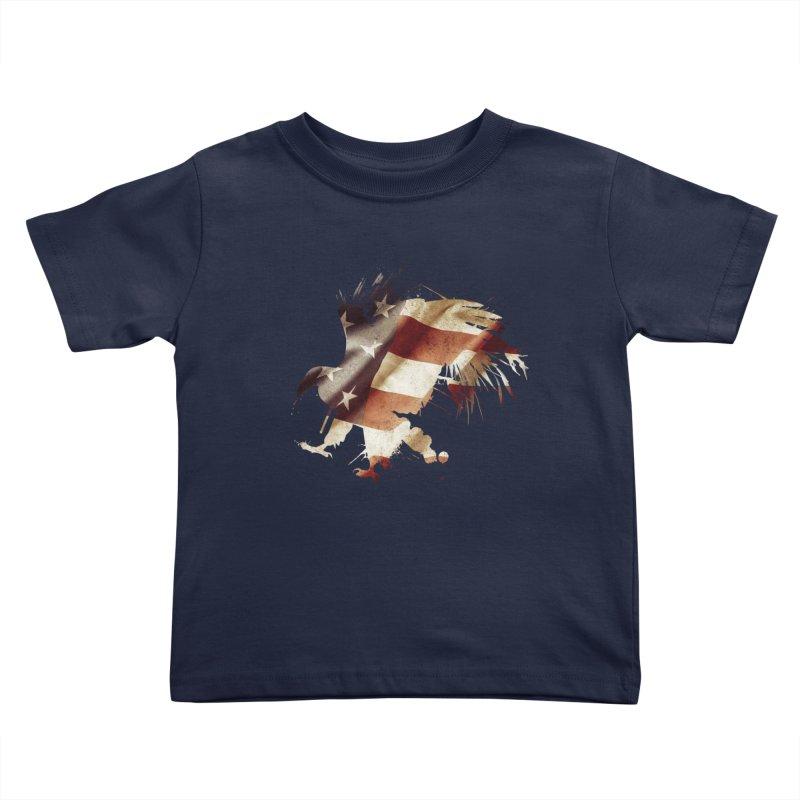 Bald Eagle Kids Toddler T-Shirt by andrewkaiser's Artist Shop