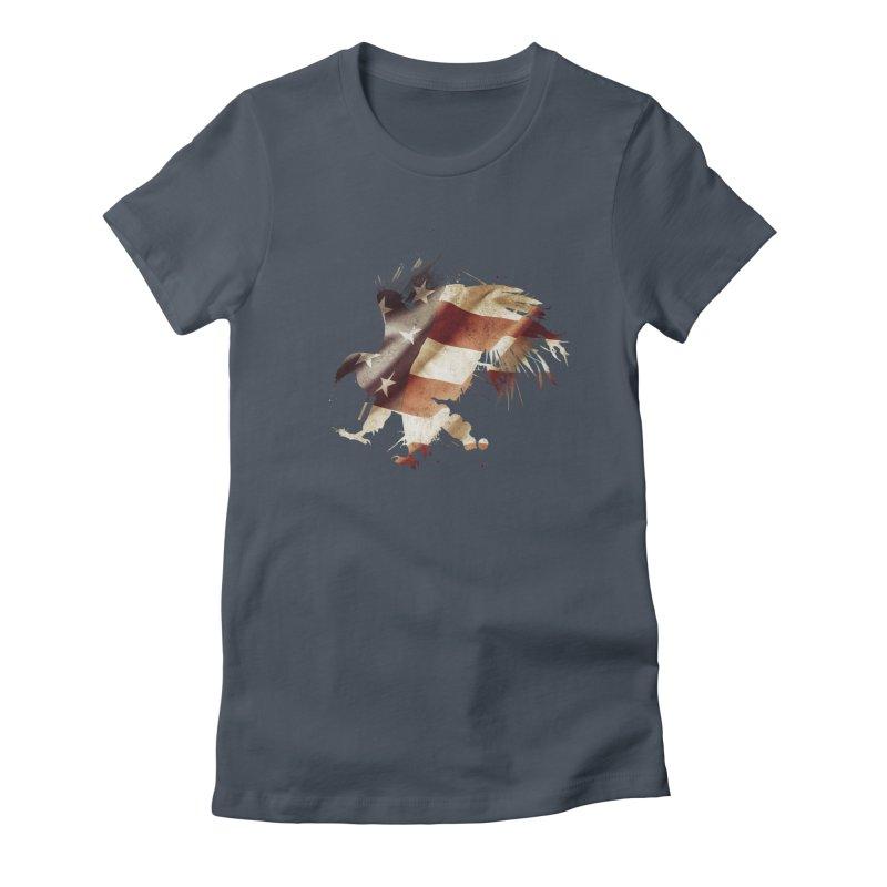 Bald Eagle Women's T-Shirt by andrewkaiser's Artist Shop