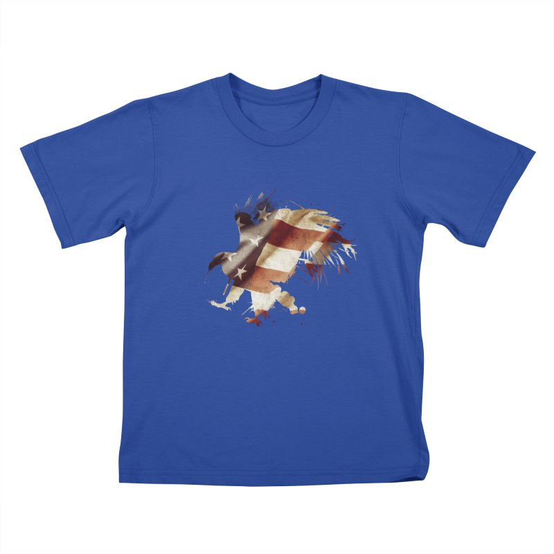 Bald Eagle Kids T-shirt by andrewkaiser's Artist Shop
