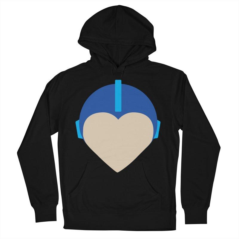 I Heart Megaman Women's Pullover Hoody by andrewkaiser's Artist Shop