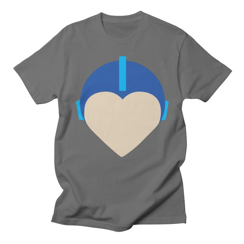 I Heart Megaman Men's T-Shirt by andrewkaiser's Artist Shop
