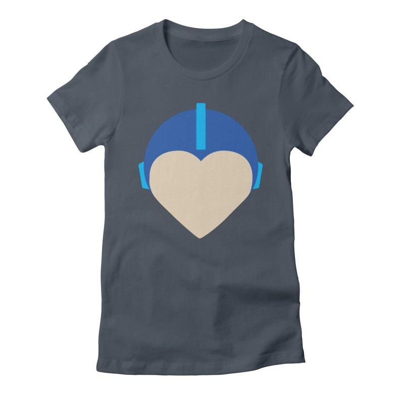I Heart Megaman Women's T-Shirt by andrewkaiser's Artist Shop