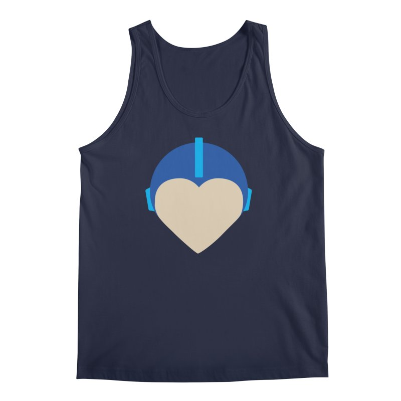 I Heart Megaman Men's Regular Tank by andrewkaiser's Artist Shop