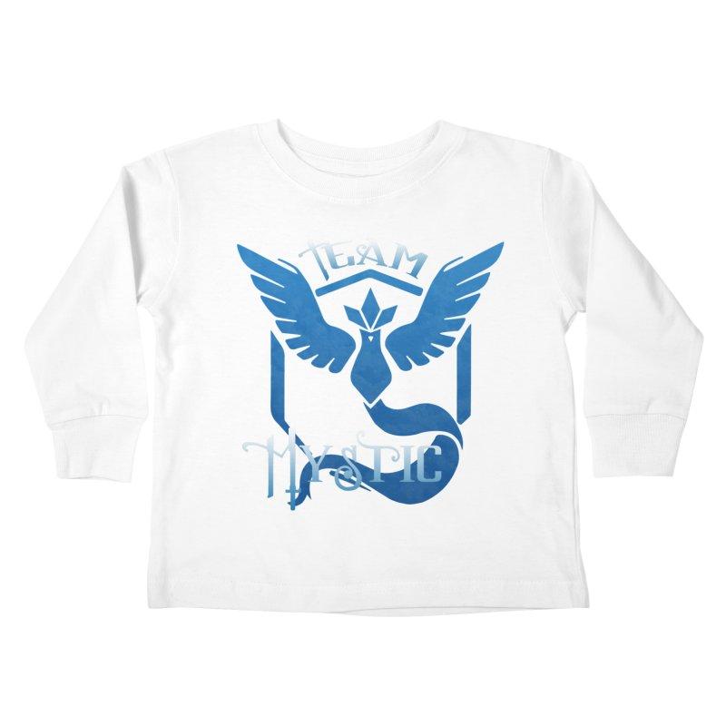Blanche is waifu Kids Toddler Longsleeve T-Shirt by andrewkaiser's Artist Shop