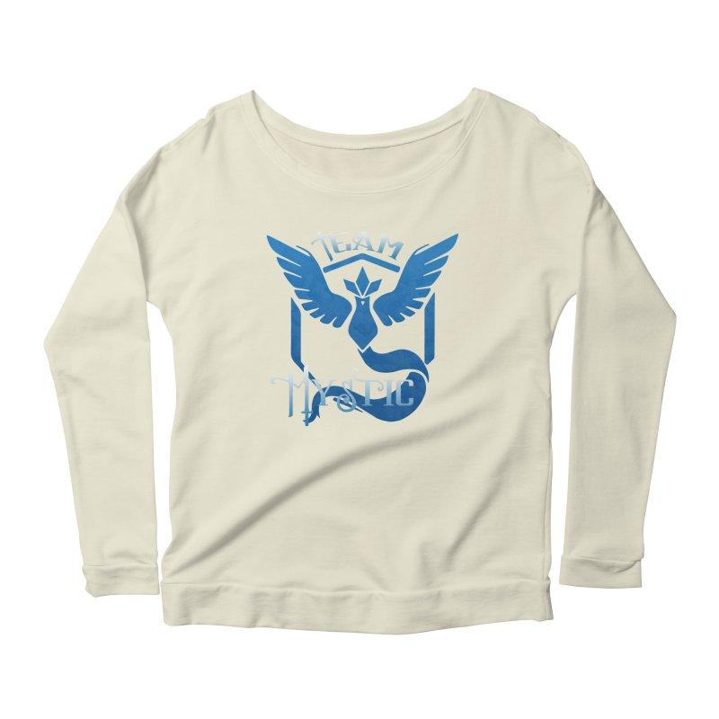 Blanche is waifu Women's Scoop Neck Longsleeve T-Shirt by andrewkaiser's Artist Shop