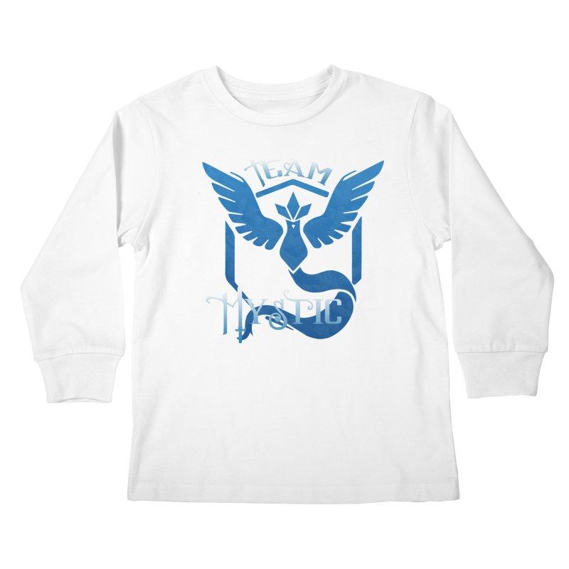 Blanche is waifu Kids Longsleeve T-Shirt by andrewkaiser's Artist Shop