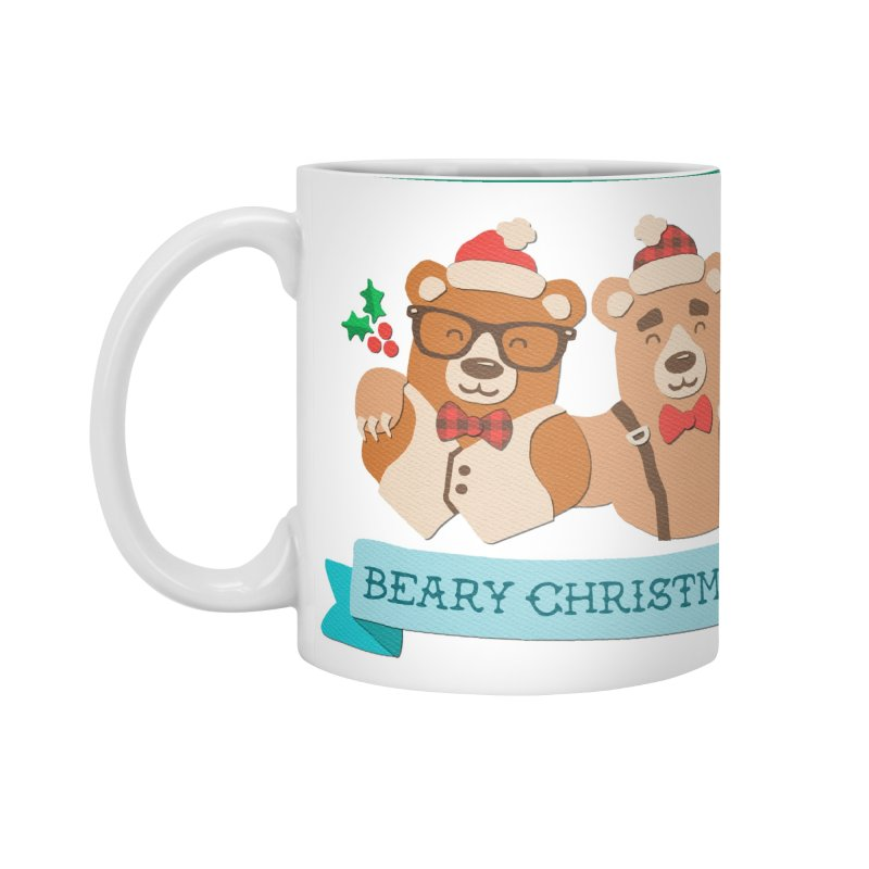 BEARy Christmas Accessories Mug by Andy Bauer's Shop