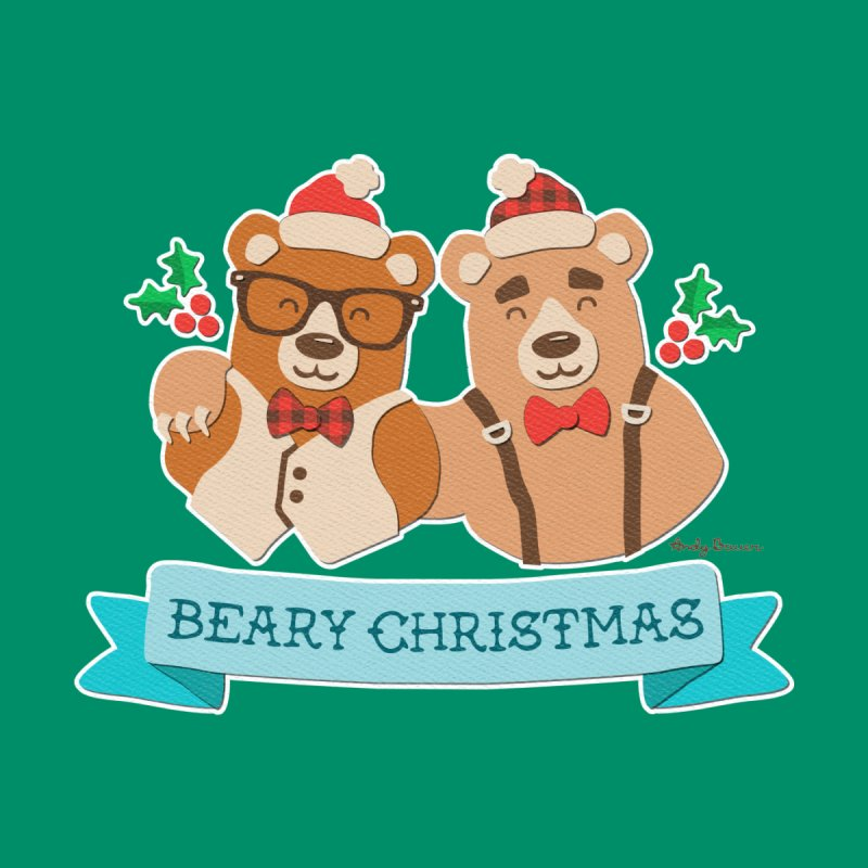 BEARy Christmas by Andy Bauer's Shop