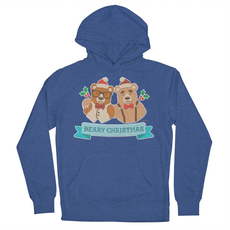 BEARy Christmas Women's French Terry Pullover Hoody by Andy Bauer's Shop
