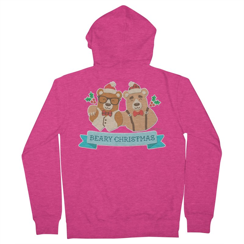 BEARy Christmas Women's Zip-Up Hoody by Andy Bauer's Shop