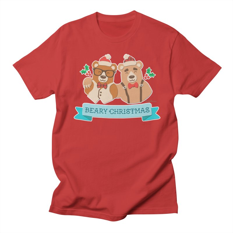 BEARy Christmas Women's Regular Unisex T-Shirt by Andy Bauer's Shop