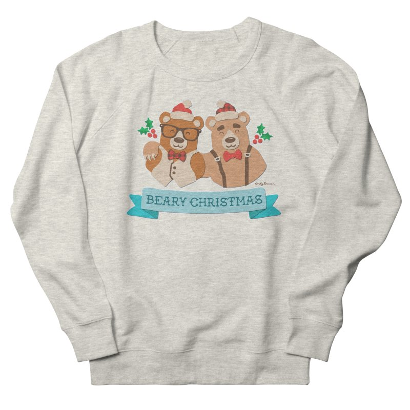 BEARy Christmas Men's Sweatshirt by Andy Bauer's Shop