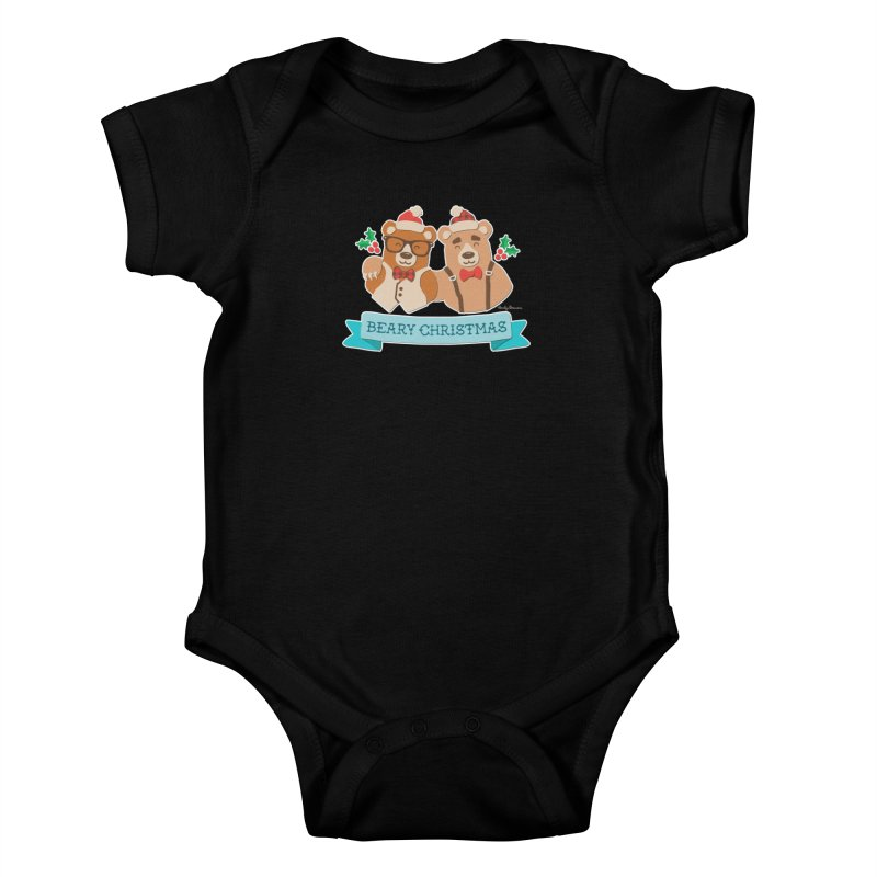 BEARy Christmas Kids Baby Bodysuit by Andy Bauer's Shop