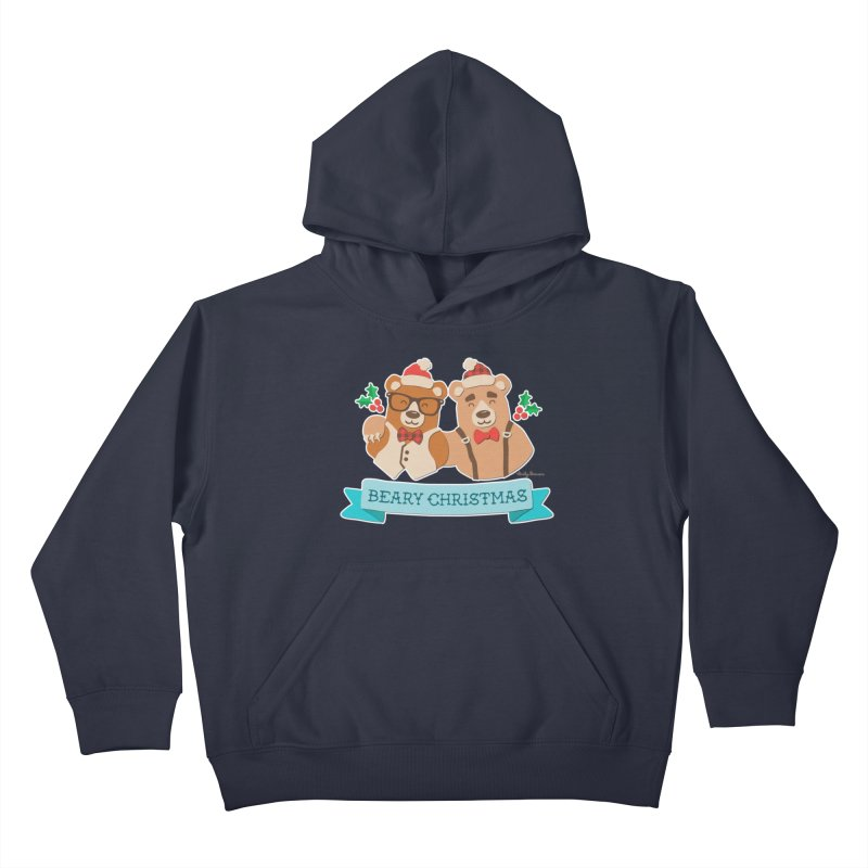 BEARy Christmas Kids Pullover Hoody by Andy Bauer's Shop