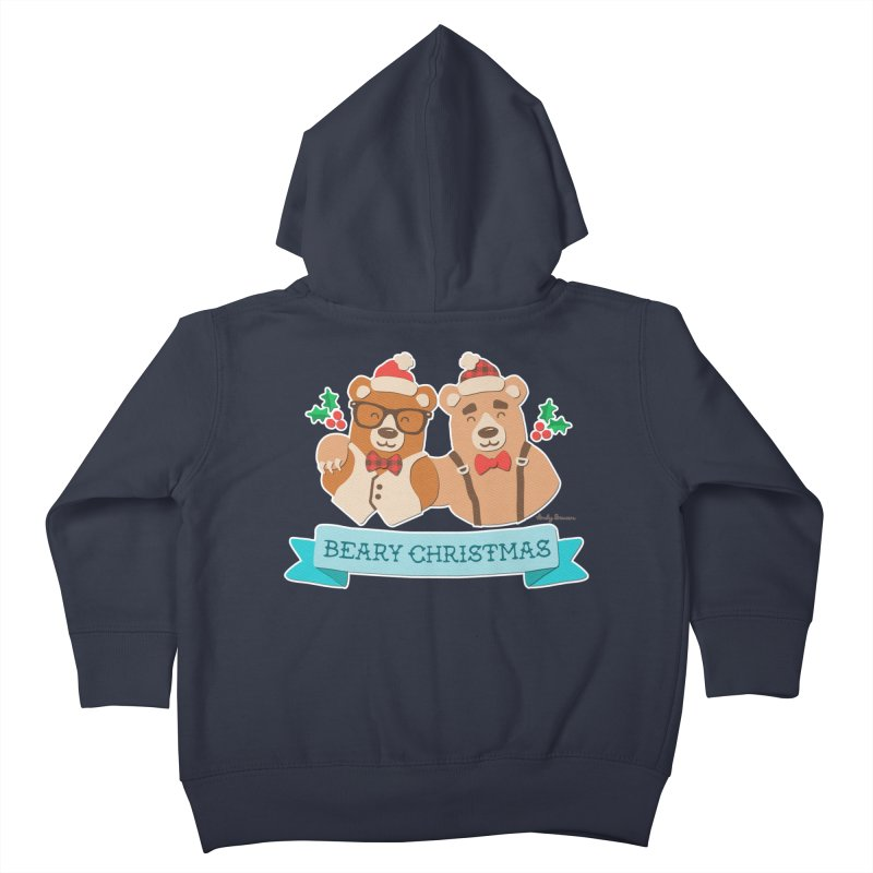 BEARy Christmas Kids Toddler Zip-Up Hoody by Andy Bauer's Shop