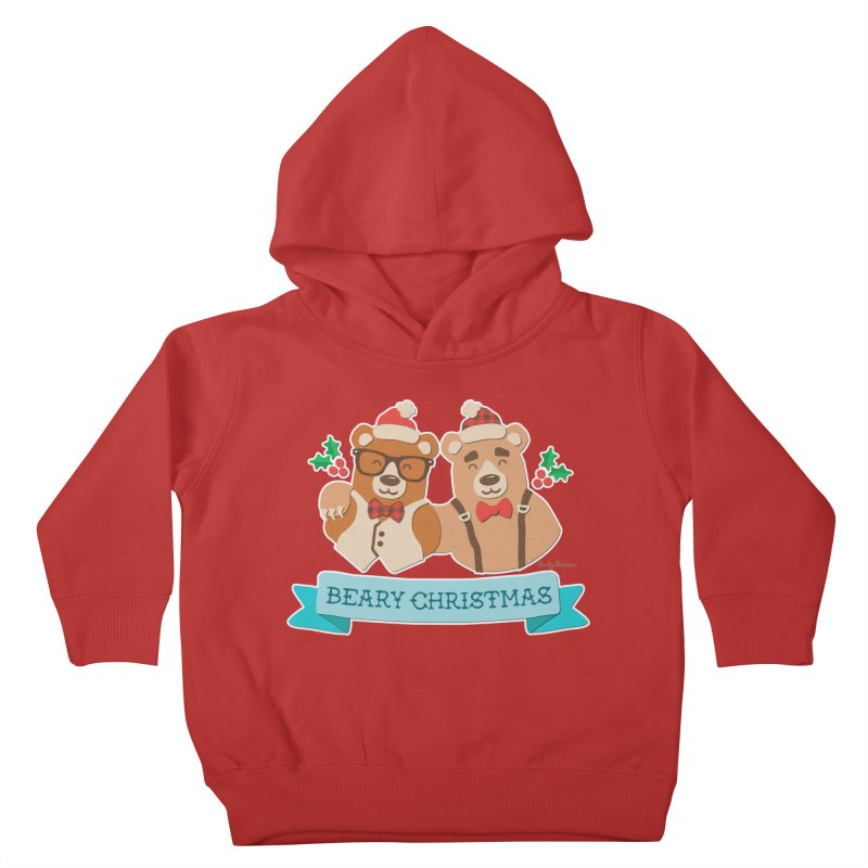 BEARy Christmas Kids Toddler Pullover Hoody by Andy Bauer's Shop