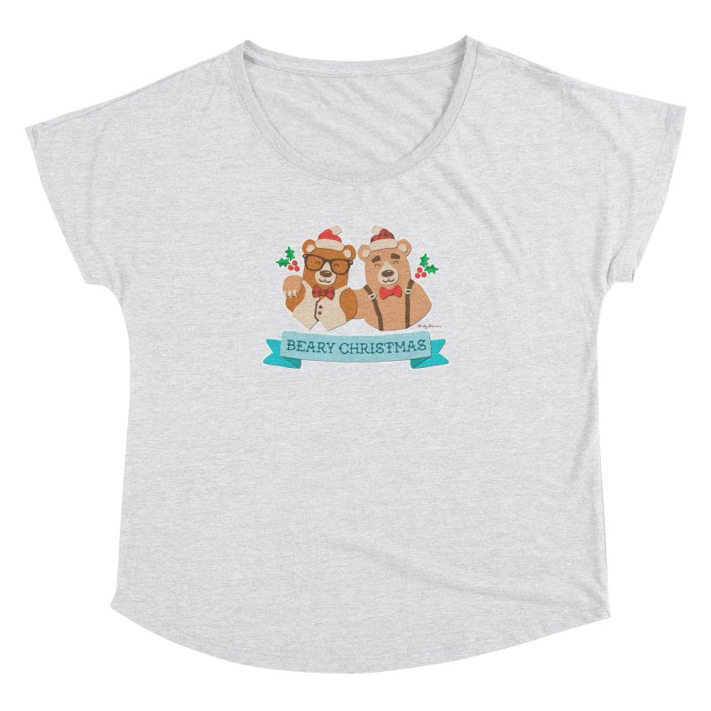 BEARy Christmas Women's Dolman Scoop Neck by Andy Bauer's Shop