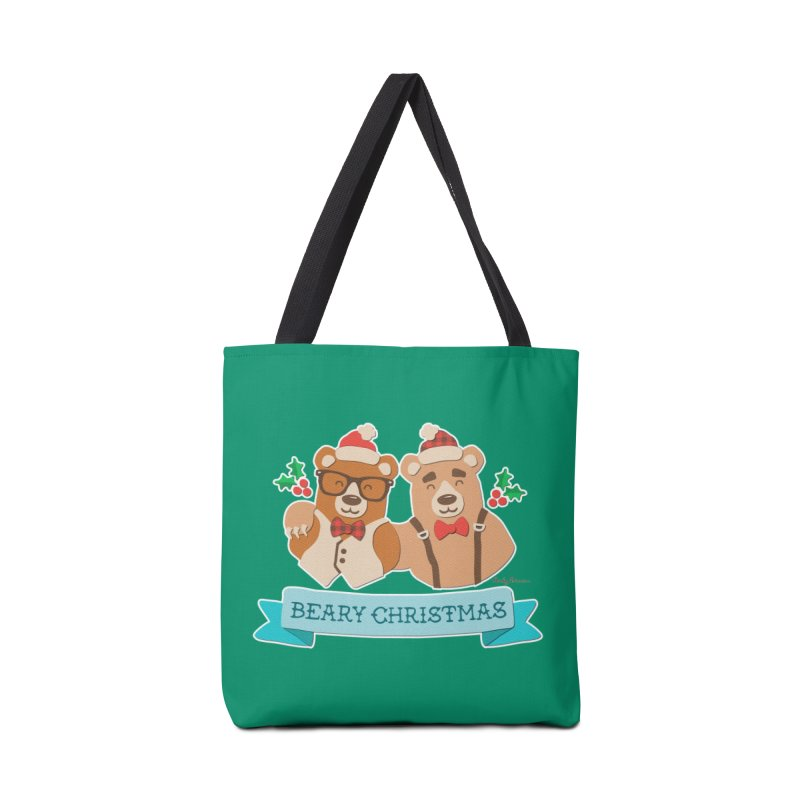 BEARy Christmas Accessories Bag by Andy Bauer's Shop