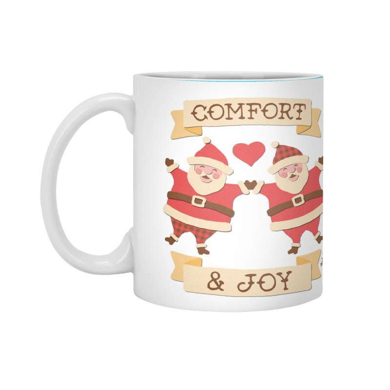 Comfort and Joy Accessories Mug by Andy Bauer's Shop