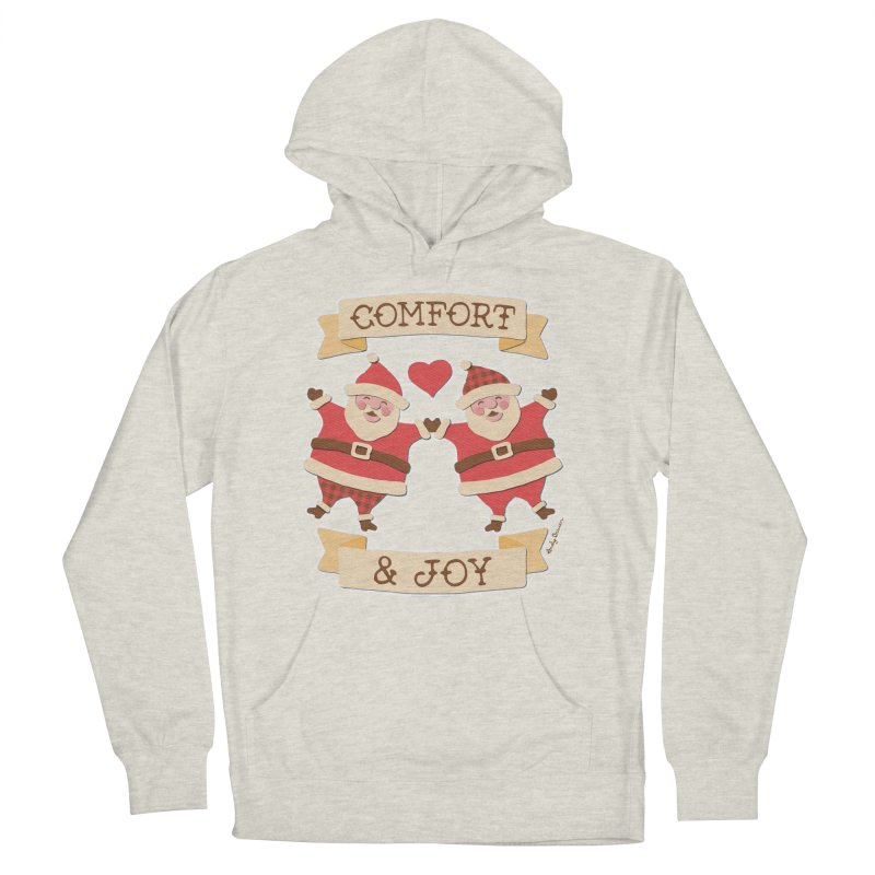 Comfort and Joy Men's French Terry Pullover Hoody by Andy Bauer's Shop