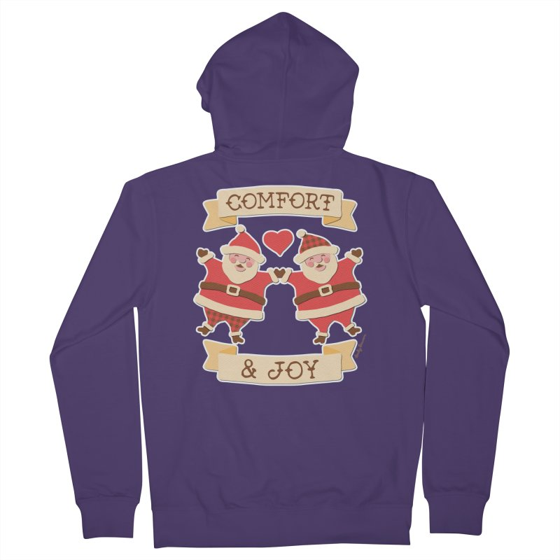 Comfort and Joy Women's Zip-Up Hoody by Andy Bauer's Shop