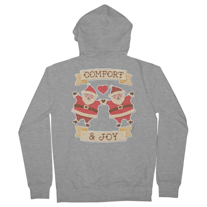 Comfort and Joy Men's French Terry Zip-Up Hoody by Andy Bauer's Shop