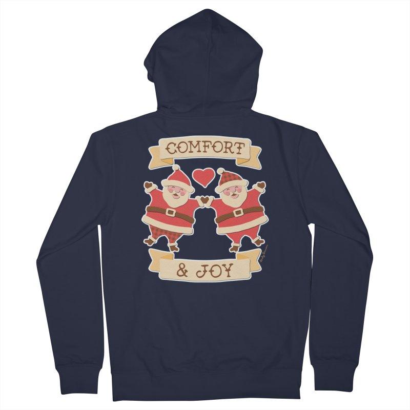 Comfort and Joy Men's Zip-Up Hoody by Andy Bauer's Shop
