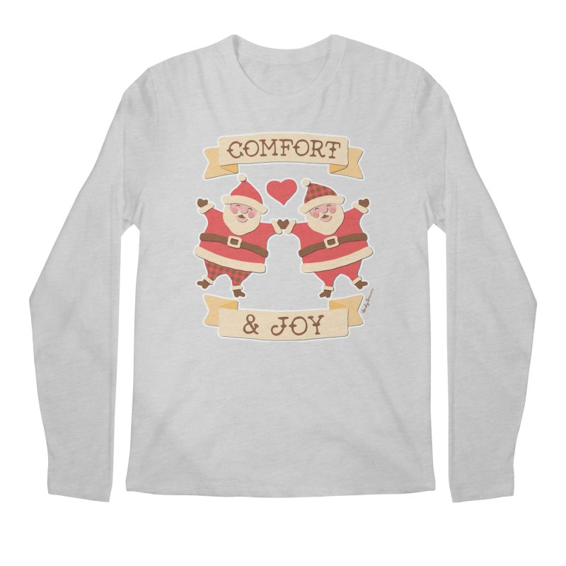 Comfort and Joy Men's Longsleeve T-Shirt by Andy Bauer's Shop