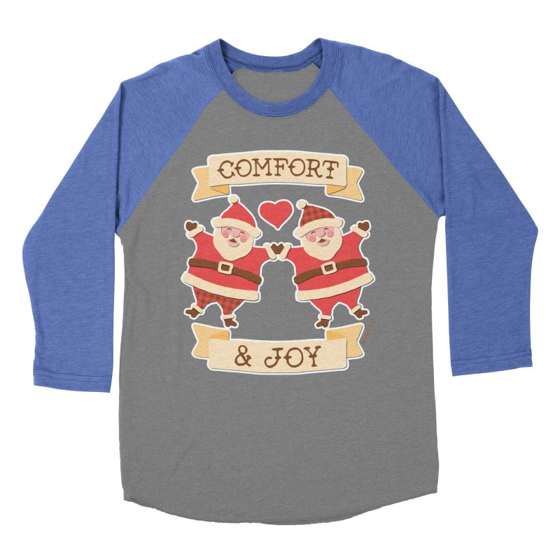 Comfort and Joy Women's Baseball Triblend T-Shirt by Andy Bauer's Shop