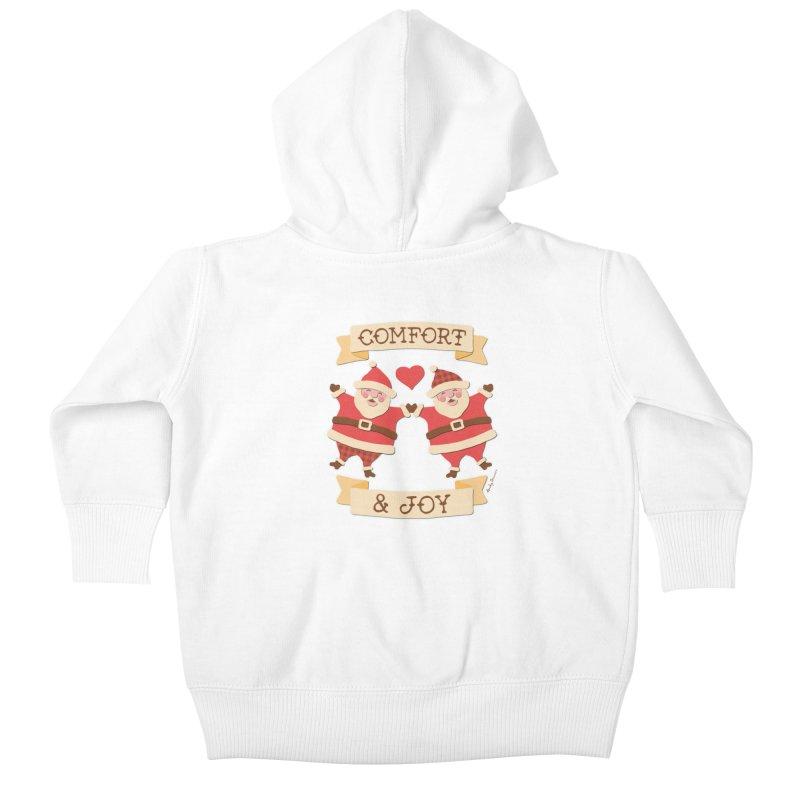 Comfort and Joy Kids Baby Zip-Up Hoody by Andy Bauer's Shop
