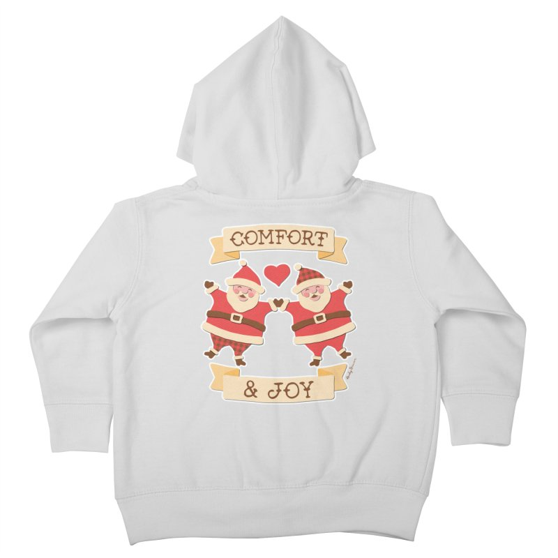 Comfort and Joy Kids Toddler Zip-Up Hoody by Andy Bauer's Shop