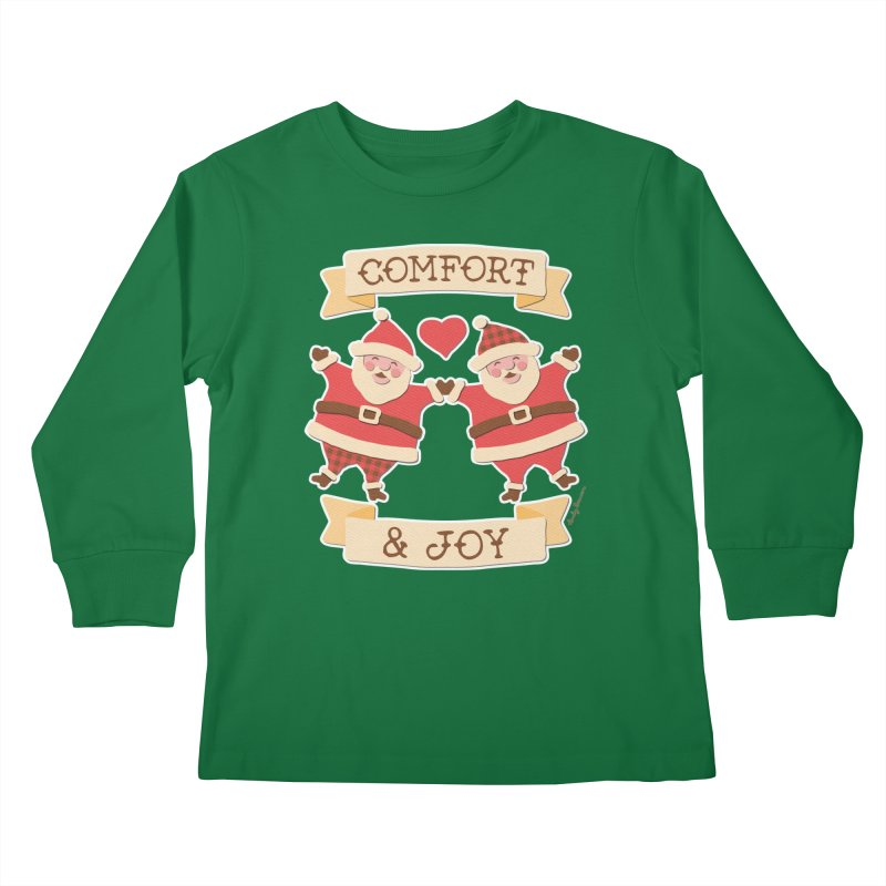 Comfort and Joy Kids Longsleeve T-Shirt by Andy Bauer's Shop