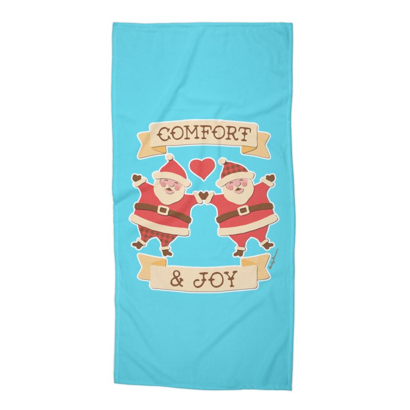 Comfort and Joy Accessories Beach Towel by Andy Bauer's Shop