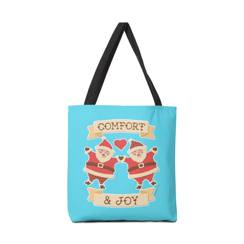 Comfort and Joy Accessories Tote Bag Bag by Andy Bauer's Shop