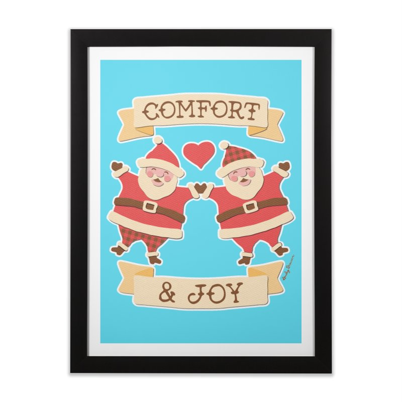 Comfort and Joy Home Framed Fine Art Print by Andy Bauer's Shop