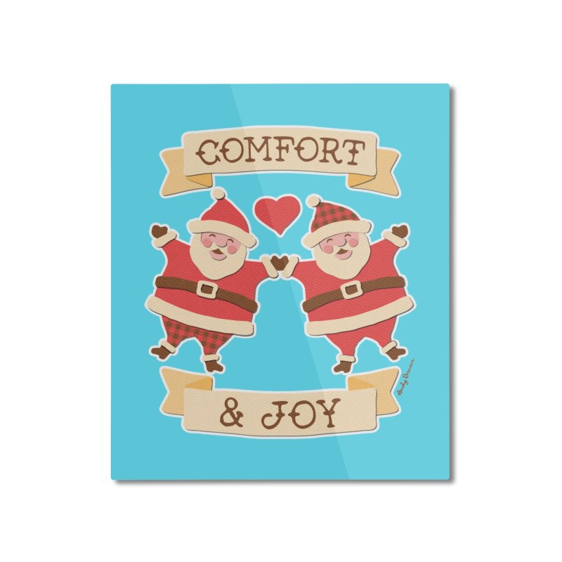 Comfort and Joy Home Mounted Aluminum Print by Andy Bauer's Shop