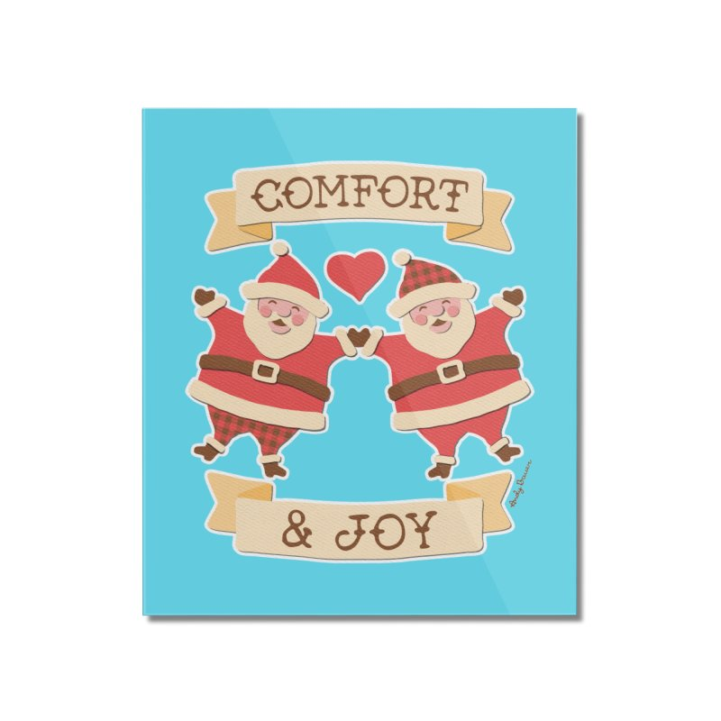 Comfort and Joy Home Mounted Acrylic Print by Andy Bauer's Shop