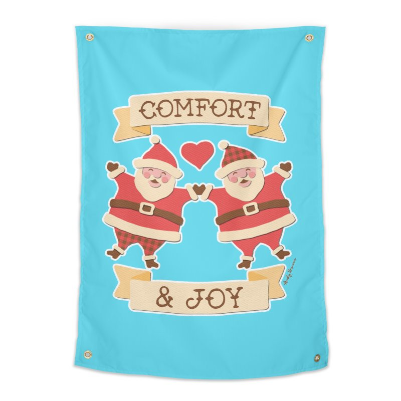 Comfort and Joy Home Tapestry by Andy Bauer's Shop